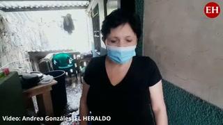 Familias afectadas tras fuertes lluvias en la capital de Honduras