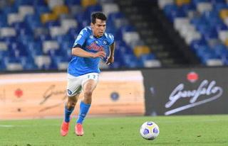 Golazo del Chucky Lozano y Nápoles golea al Udinese para alzarse con el liderato en la Serie A italiana