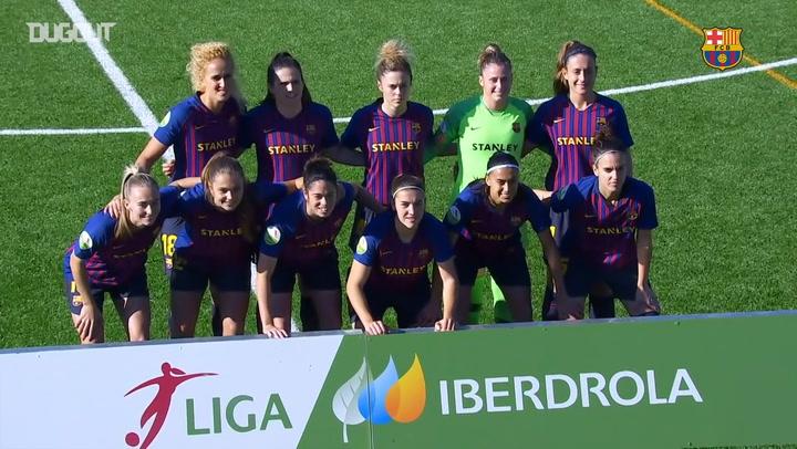 Highlights: Málaga CF Femenino 0-4 FC Barcelona Femení