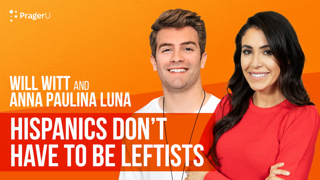 Hispanics Don't Have to Be Leftists
