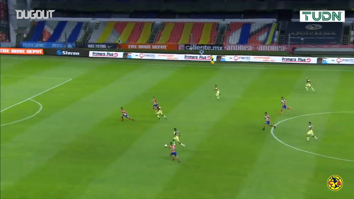 América beat Atlético San Luis 2-1 in their 2021 Clausura debut