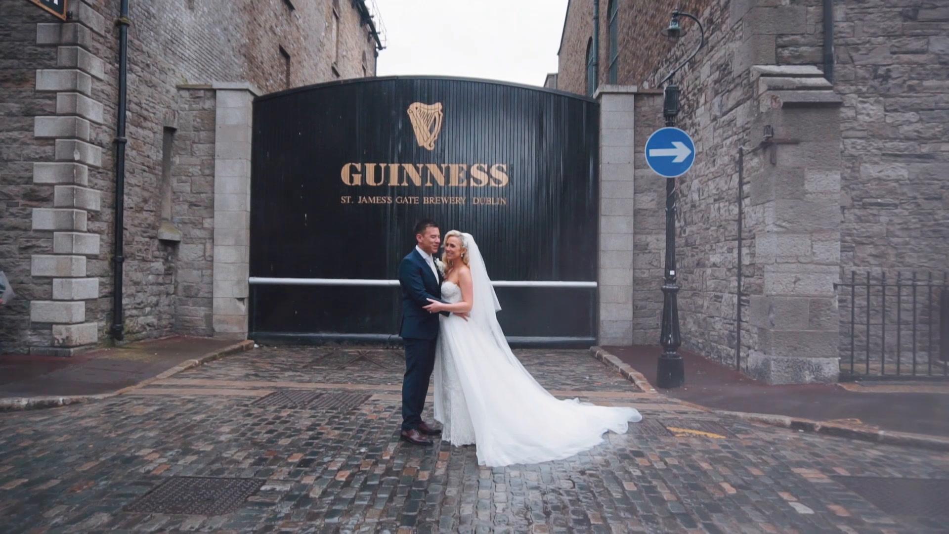 Gemma + Lee | Meath, Ireland | a hotel