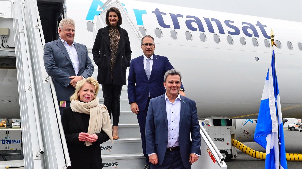Air Transat offrira un service direct entre Québec et Londres en mai 2022 [VIDÉO]