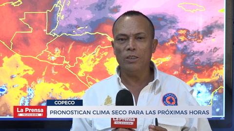 Pronostican clima seco para las próximas horas