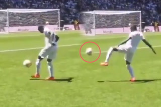 Video: Tremendo blooper de Mendy en su presentación con el Real Madrid