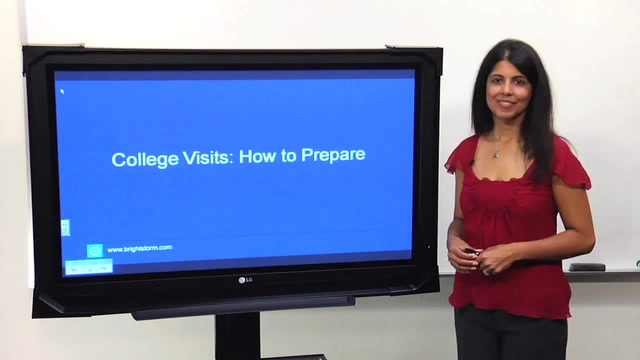 College Visits - How to Prepare