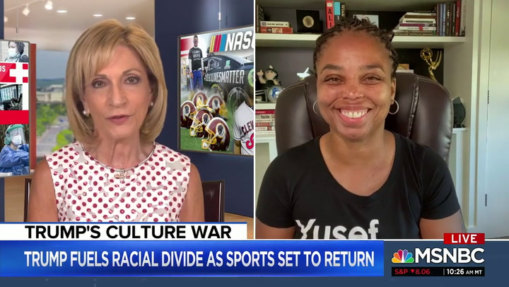 Jemele Hill: Trump Bubba Wallace Tweet 'Repulsive,' 'Unbefitting'
