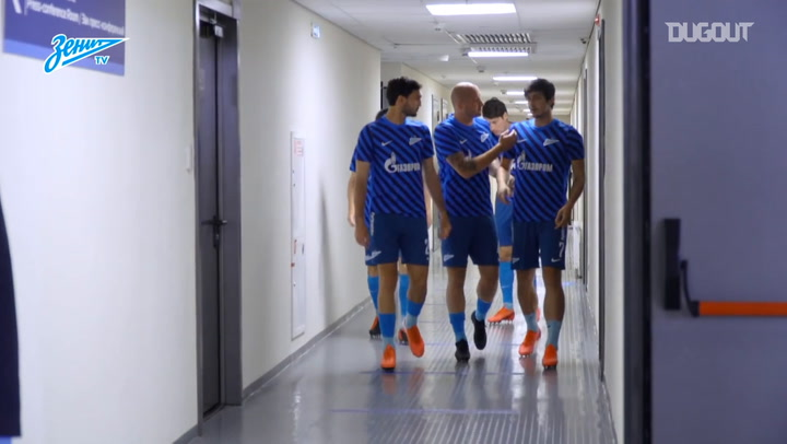 Behind the scenes of Zenit's win over Krylia Sovetov