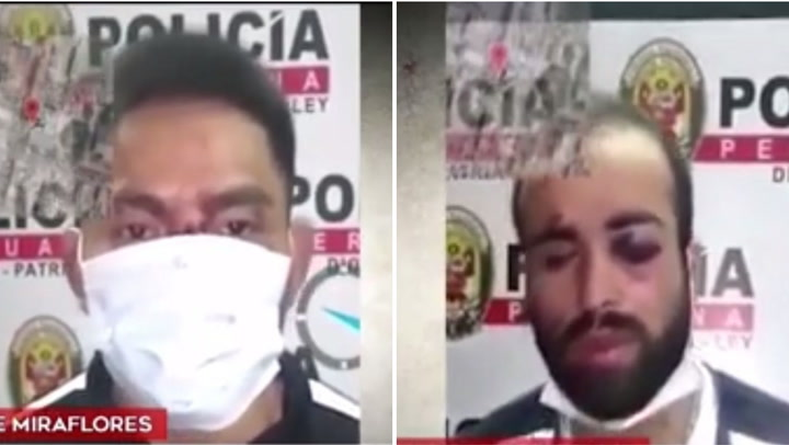 Delincuentes son capturados tras robar celular a una joven en San Juan de Miraflores