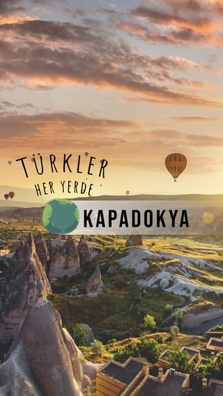 Türkler Her Yerde - Kapadokya'da gün doğumu