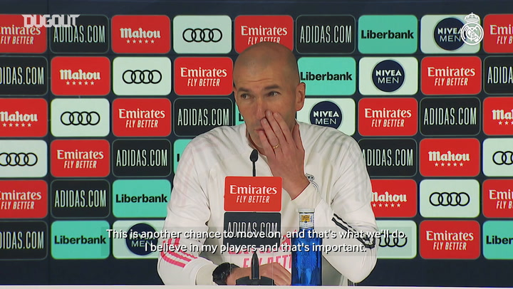 Zinedine Zidane: 'I believe in my players'