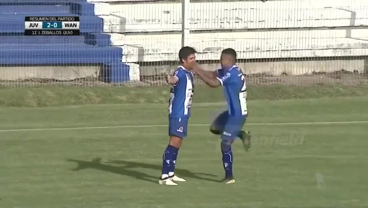 Así golea Joaquín Zeballos