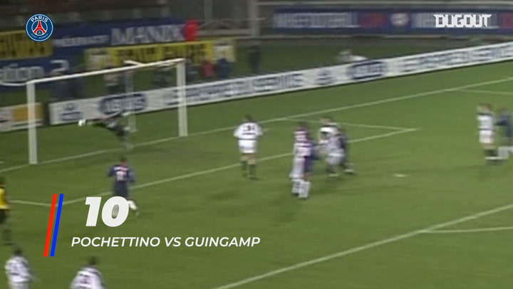 The 10 best goals scored by PSG's Argentinian players