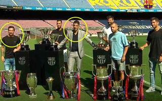 Luis Suárez y su mensaje de despedida a Lionel Messi, quien pasa a ser su rival