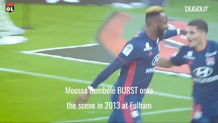 Moussa Dembele's rapid rise at Olympique Lyonnais