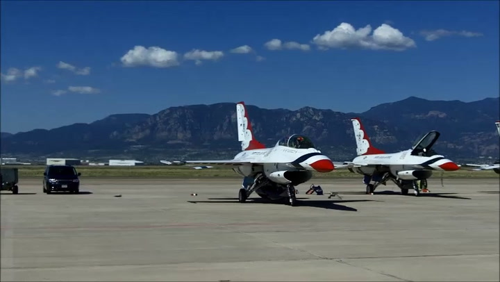 Thunderbirds Get Ready For Air Force Academy Graduation