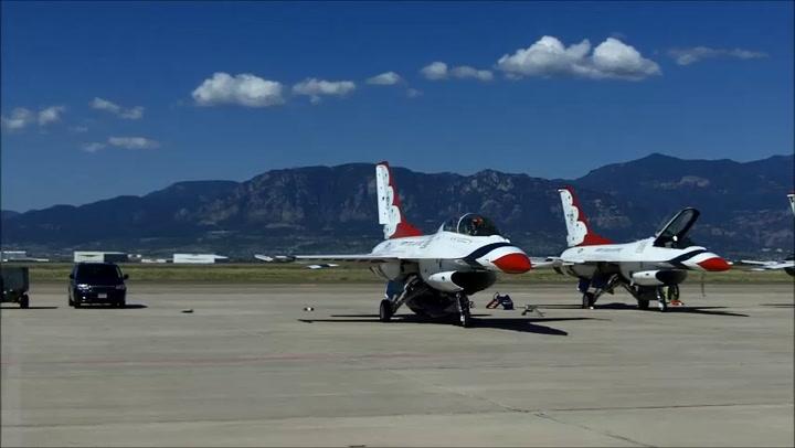 Thunderbirds Get Ready For Air Force Academy Graduation