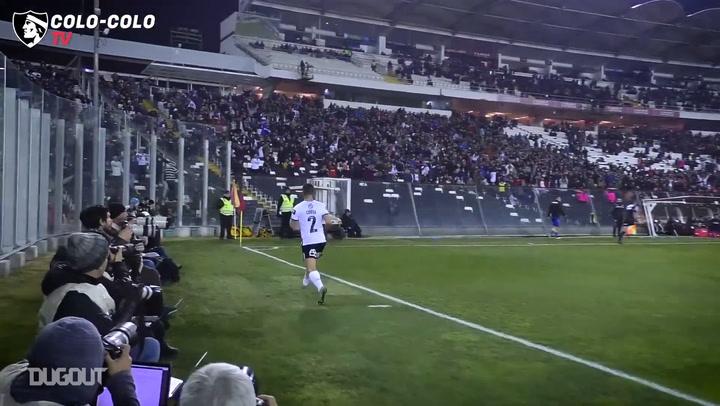 El hat-trick de Gabriel Costa ante Barnechea