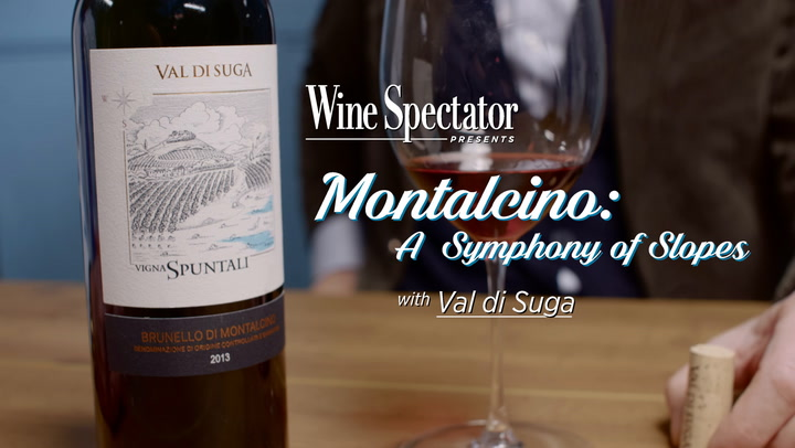 On the Slopes of Montalcino: Val di Suga Brunello