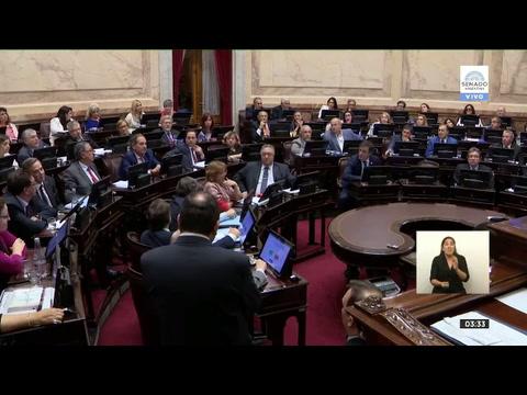 Senadores aprobó esta madrugada el Presupuesto 2019 tras un debate de 14 horas
