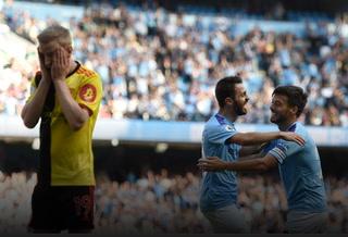 Manchester City humilló de forma escandalosa al Watford en la Premier League