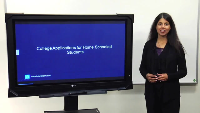 College applications for homeschooled students