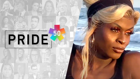 #Pride50: Symone, winner of RuPaul's Drag Race, pays tribute to Janet Jackson's Love Will Never Do Without You