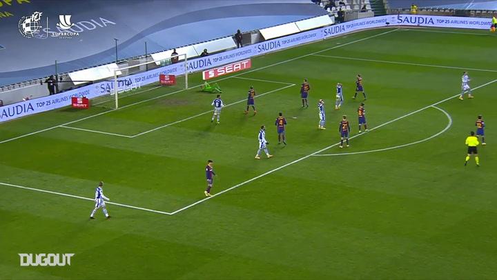 Ter Stegen's impressive saves against Real Sociedad
