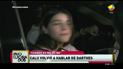Calu Rivero habló con las cámaras de América TV