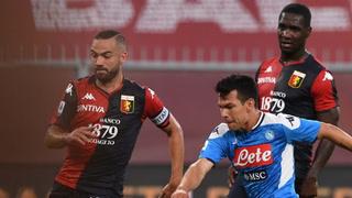 Chuky Lozano da tres puntos al Nápoles para seguir soñando con Europa