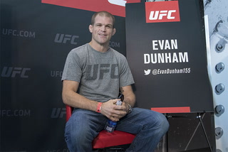 UFC 216 competitor Evan Dunham on his fight, how the city's tragedy has affected him