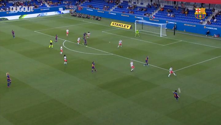 Highlights: Barça Women 2-1 Juventus