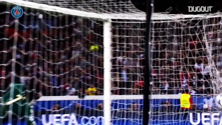 Ezequiel Lavezzi's best moments with Paris Saint-Germain