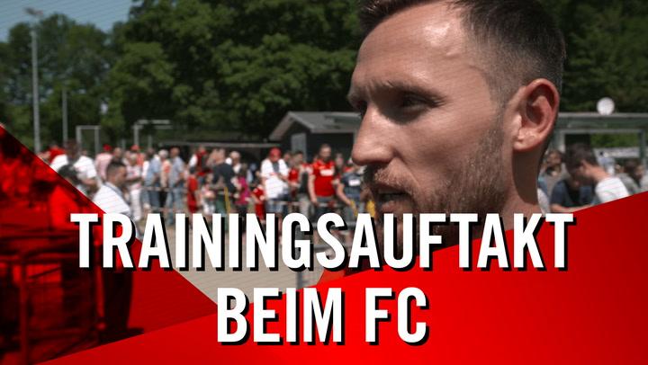 Trainingsauftakt beim FC