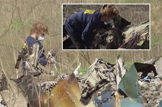 Helicóptero de Kobe Bryant: Imágenes de drone muestra cómo investigadores recogen piezas del motor