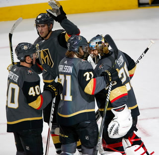 Golden Edge: Knights Shutout Calgary