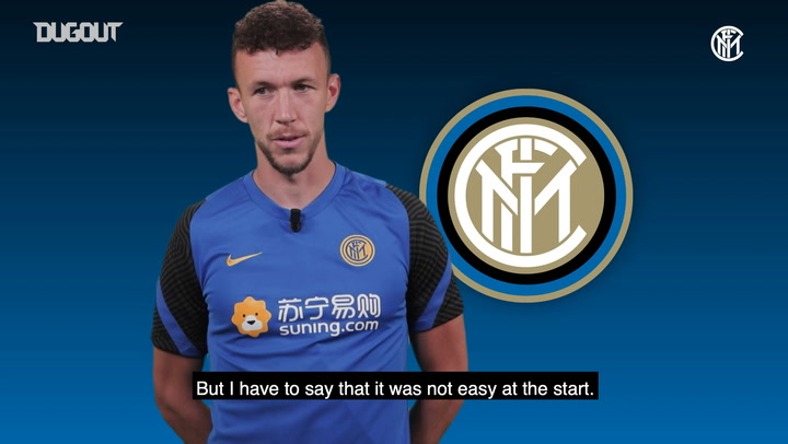 Ivan Perisic: 'I'm very happy to be at Inter again'