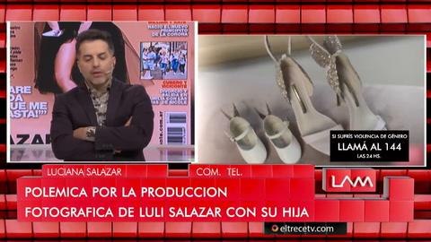 Luciana Salazar dio indicios del programa donde sufrió abuso