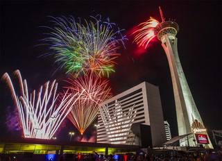Las Vegas Ready for 2019 NYE Fireworks Show