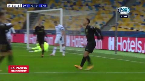 Dynamo Kiev 0 - 1 Barcelona (UEFA Champions League)