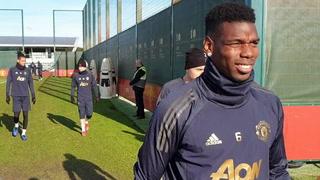 United før PSG: - Alle store stjerner på treningsfeltet
