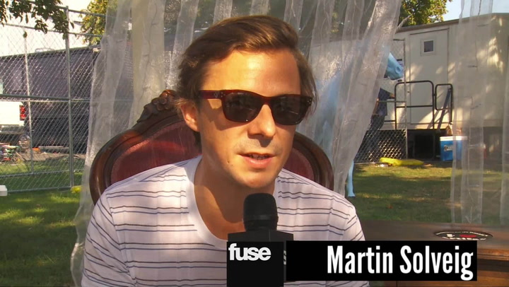 Festivals: Electric Zoo: Martin Solveig Says Madonna Made Him Quit Smoking