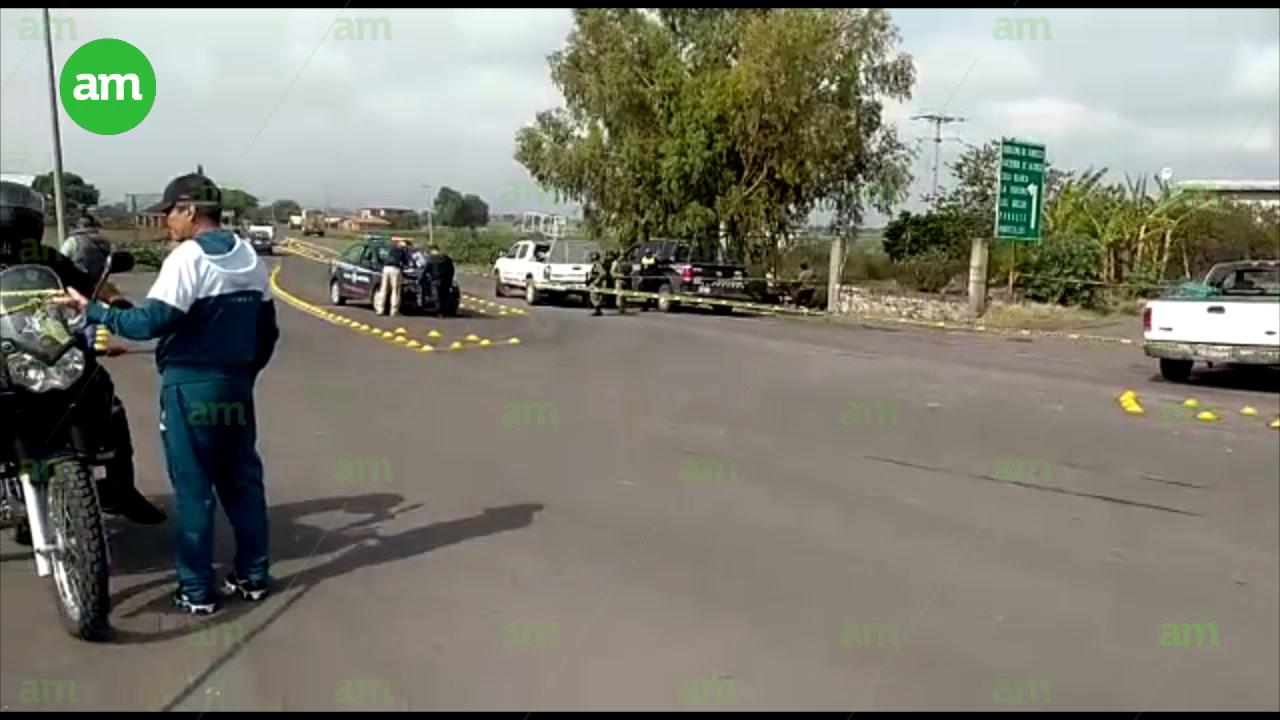Video: Balacera deja 3 muertos en el entronque del Canal Coria