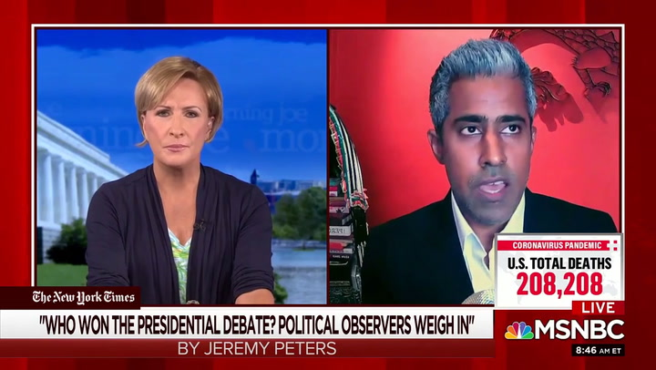 MSNBC's Giridharadas: Trump Supporters 'People Who Like Fascism'