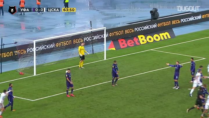 Kristijan Bistrović's strike brings CSKA the win