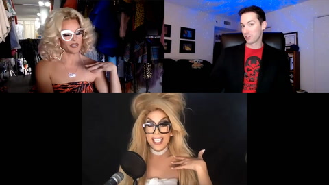 Alaska & Willam on launching a drag network with 'Moguls Of Media'