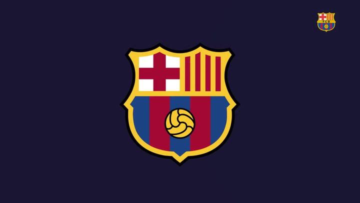 El FC Barcelona presentó un nuevo diseño de su escudo en 2018
