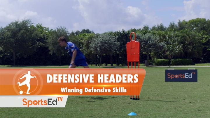DEFENSIVE HEADERS - Winning Defensive Skills • Ages 14+