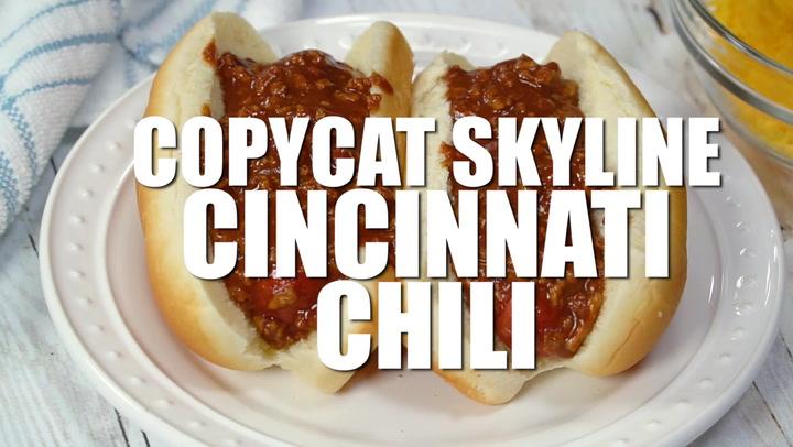Copycat Skyline Cincinnati Chili The Chunky Chef