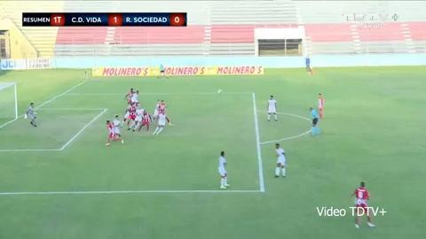 Vida 1-2 Real Sociedad (Liga Salvavida)